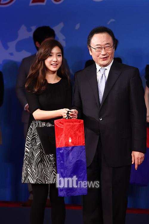 Kim So Eun supports the 2010 G20 Seoul Summit 51feba4b88f674b983025c8f