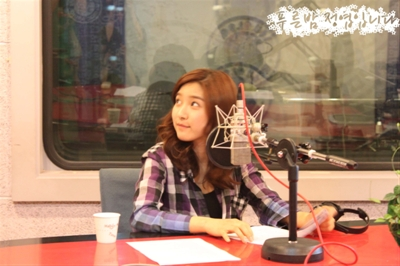 Kim So Eun on MBC Radio's 'Jung Yeop's Blue Night' 76be648d620c9648b21bbaf0