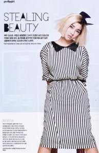 Kim So Eun Goes Blonde for Elle Girl Elle40